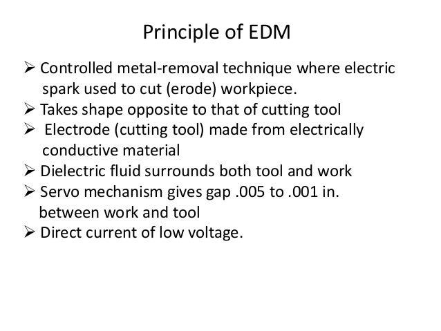 Wire cut EDM