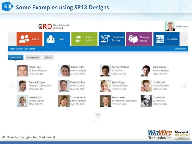 Wired2Win Webinar - Design & Deploy great looking portals with ShareP…