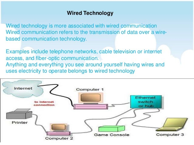 Wired and wireless technologies