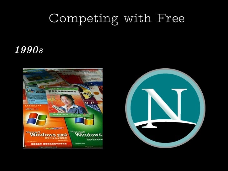 Competing with Free 1990s :