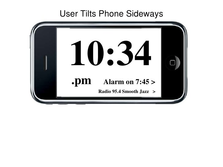 Wireframe screens for the Clock Radio App