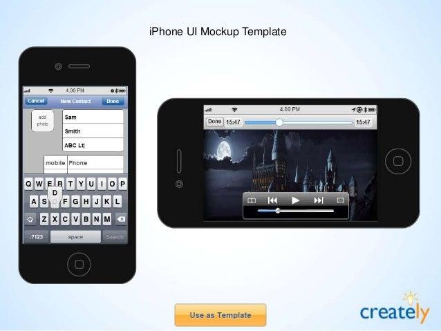 iPad - Add Mail Account UI Mockup Template