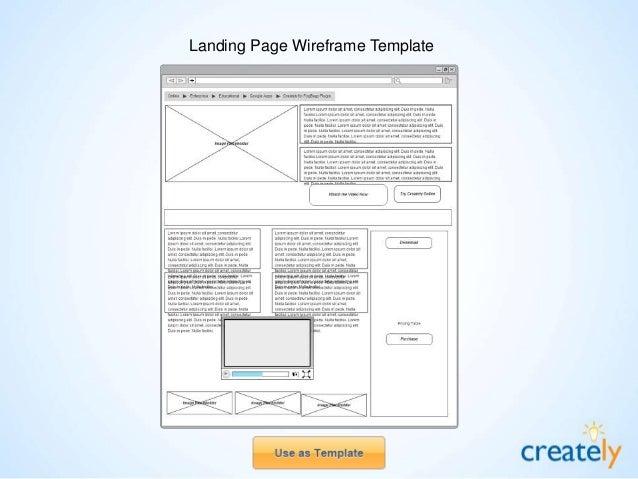 Billing System Wireframe / Mockup Template