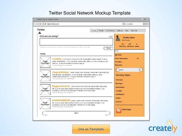 Creately Blog Mockup Template