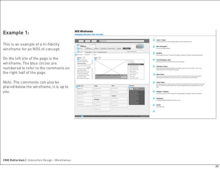 Introduction to wireframes