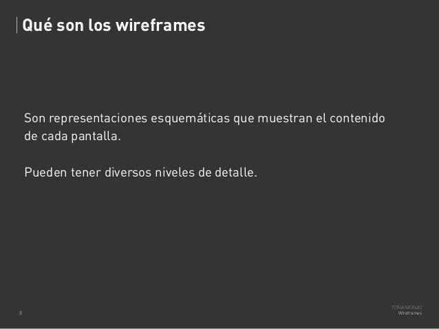 Wireframes Slide 3
