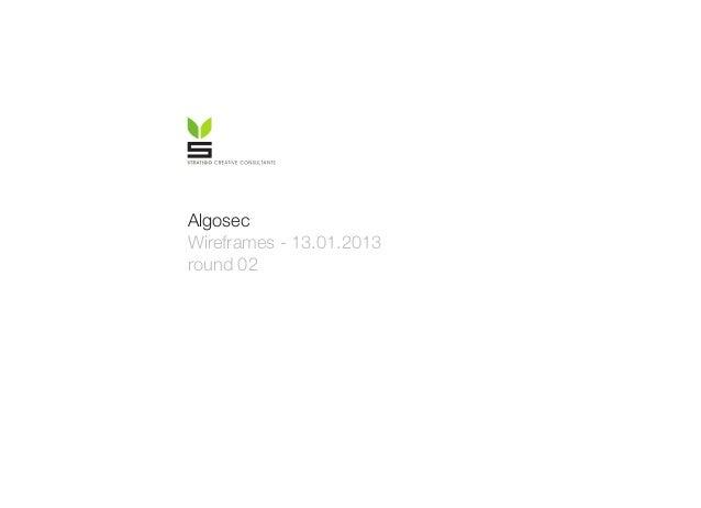 Algosec Wireframes - 13.01.2013 round 02