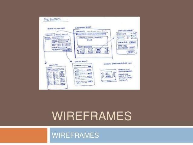 WIREFRAMES  WIREFRAMES