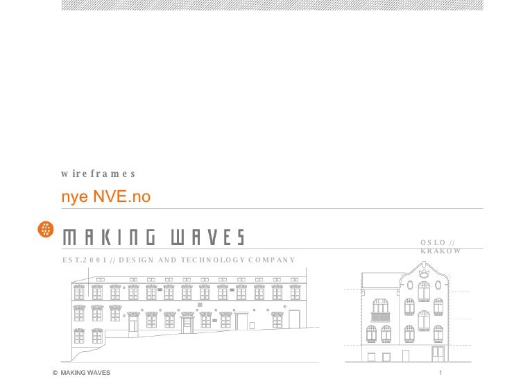 nye NVE.no wireframes