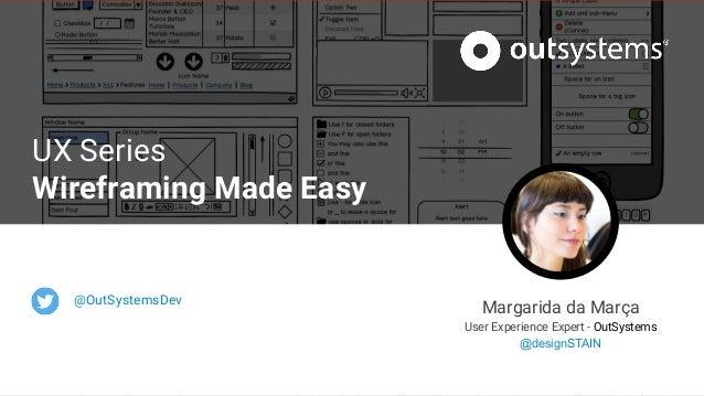 Training Webinar - Wireframing made easy Slide 2