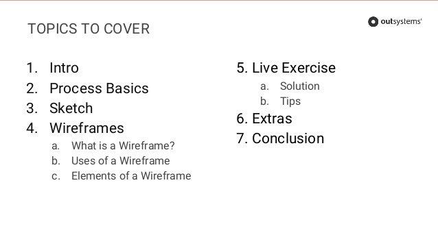 Training Webinar - Wireframing made easy Slide 3
