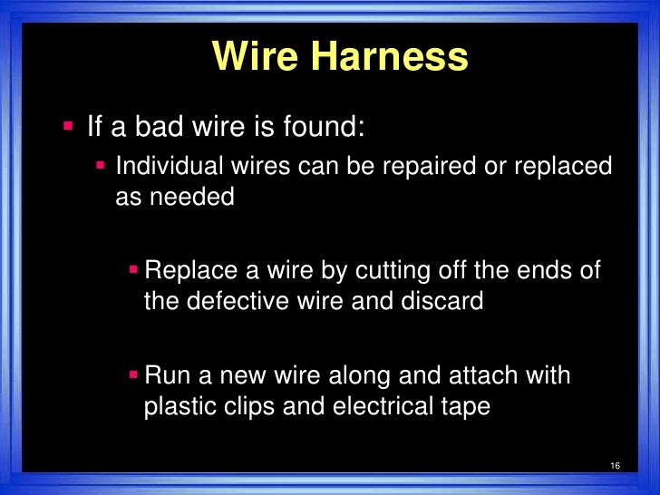 wire harness test simple 16