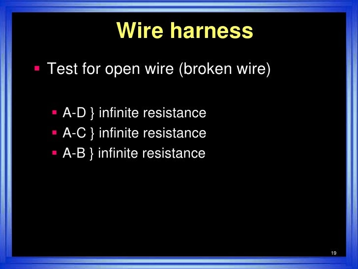 wire harness test simple 19 728?cb=1286108280 wire harness test simple how to test wire harness for short at mifinder.co