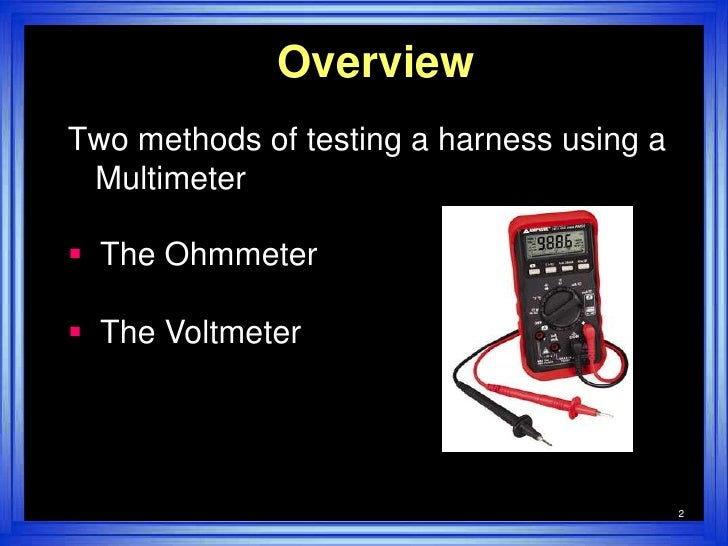 Test Trailer Wiring Harness Multimeter : Test trailer wiring harness multimeter diagram