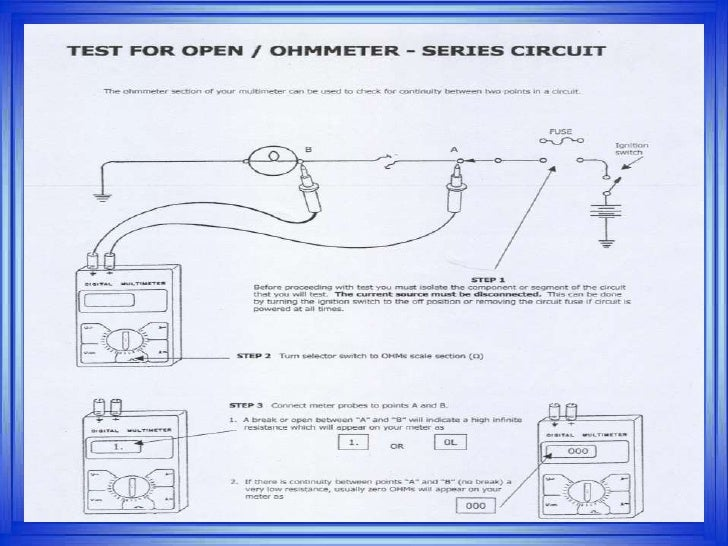 Testing Wiring Harness With Multimeter - Wiring Diagram Article