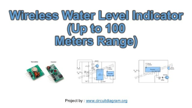 Wireless water level indicator circuit wireless water level indicator up to 100 meters range project by ccuart Gallery