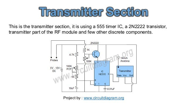 Water Level Indicator Circuit Diagram Pdf | Wireless Water Level Indicator Circuit