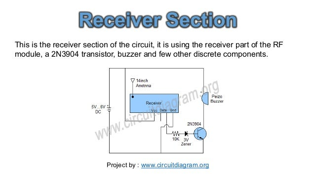Wireless Water Level Indicator Circuit