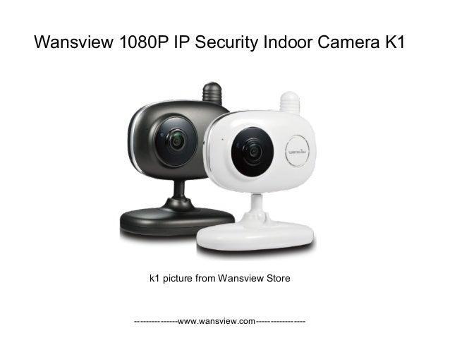 Wansview Wireless 1080P IP security indoor camera k1