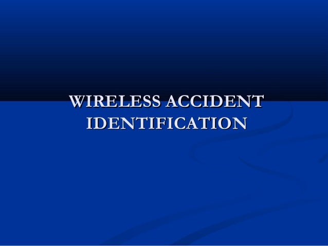 accident alert and vehicle tracking system project report