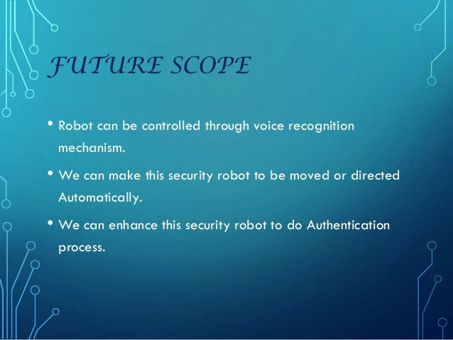 Wireless Ai Based Intelli Industrial Security Robot 2 Ppt