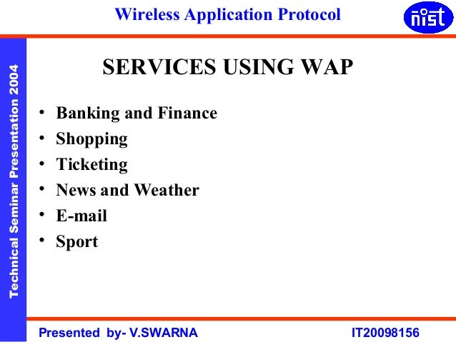 meaning of wireless application protocol This page explains, in detail, wireless appication proticol(wap) which allows mobile devices, like smartphones, to access information from various information sources.