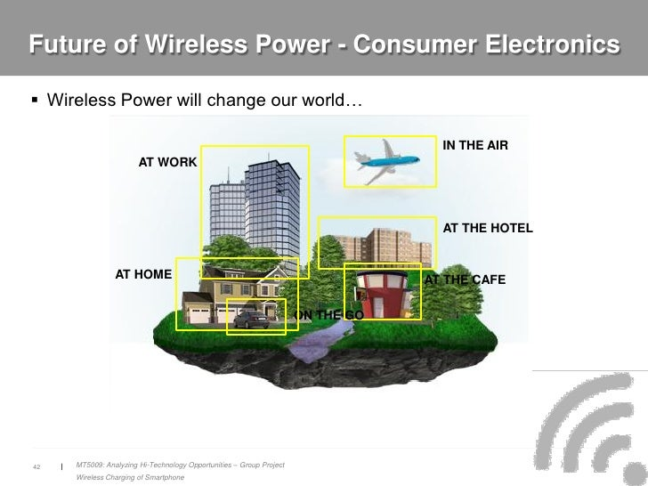 the future of wireless Quartz is a guide to the new global economy for people excited by change quartz africa the important stories of innovation across the continent's wide-ranging economies.