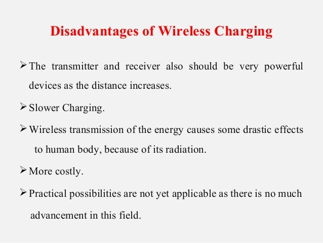 Wireless Charging Ppt