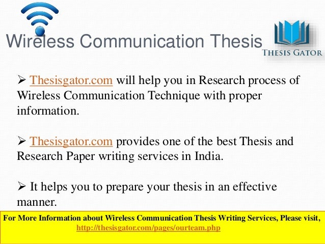 wireless network thesis