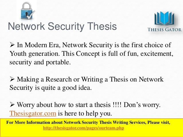 Thesis topics in networking - 2018