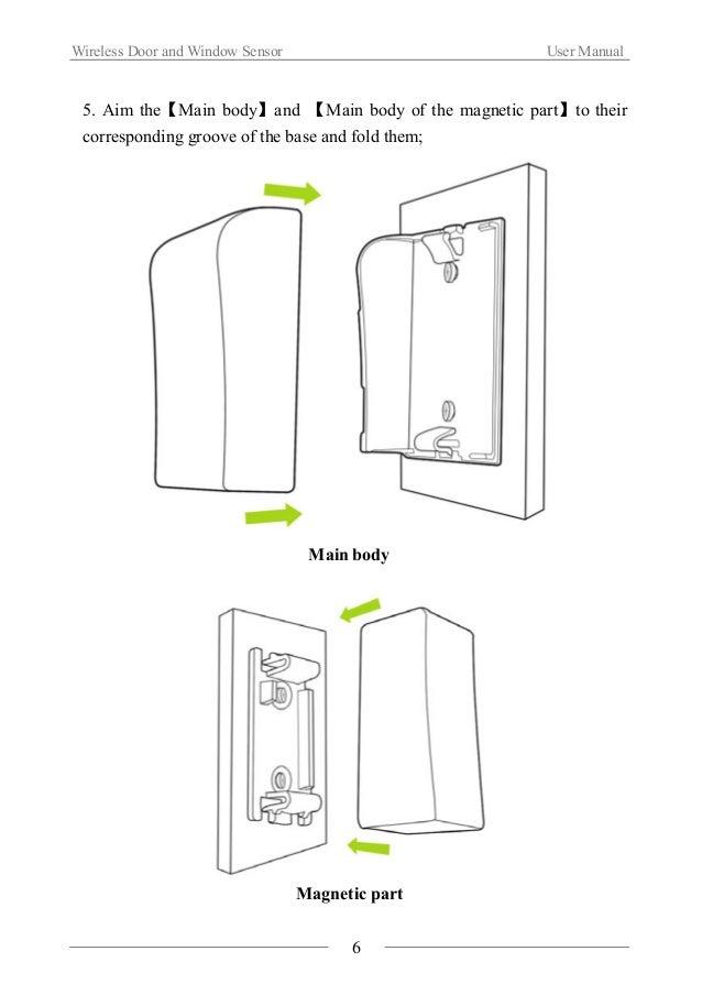 Wireless door and window sensor(WL DWS-01)
