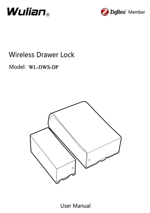 Wireless Drawer Lock(WL DWS-DP)