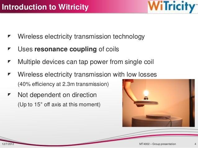 Biz Model For Wireless Electricity