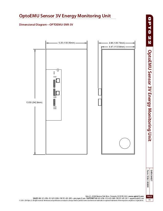 wireless energy monitoring opto com documents opto emu sen 11