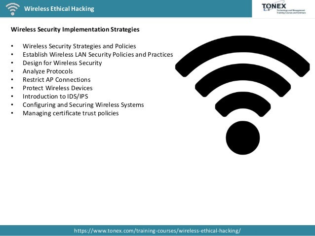 Learn Wireless Ethical Hacking From Tonex Experts