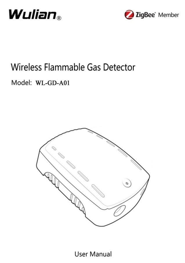 Wireless Flammable Gas Detector User Manual  Copyright notation  ©2011 Nanjing IOT Sensor Technology Co., Ltd All Rights R...