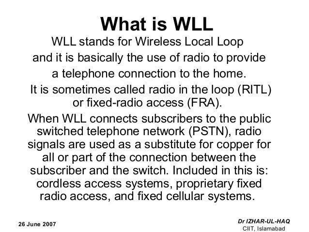 wireless local loop 26 june pv loop diagram