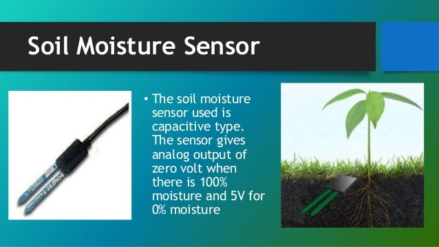 Wireless monitoring of soil moisture