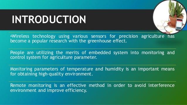 Wireless Monitoring Of Soil Moisture