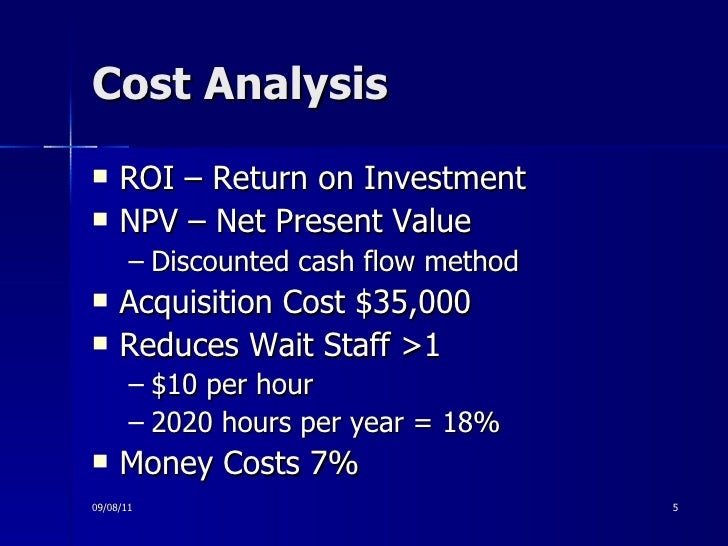 discounted cash flow techniques essay We mentioned earlier that the other discounted cash flow technique was the irr,  let us define it so we can see the relation according to wwwprincetonedu.