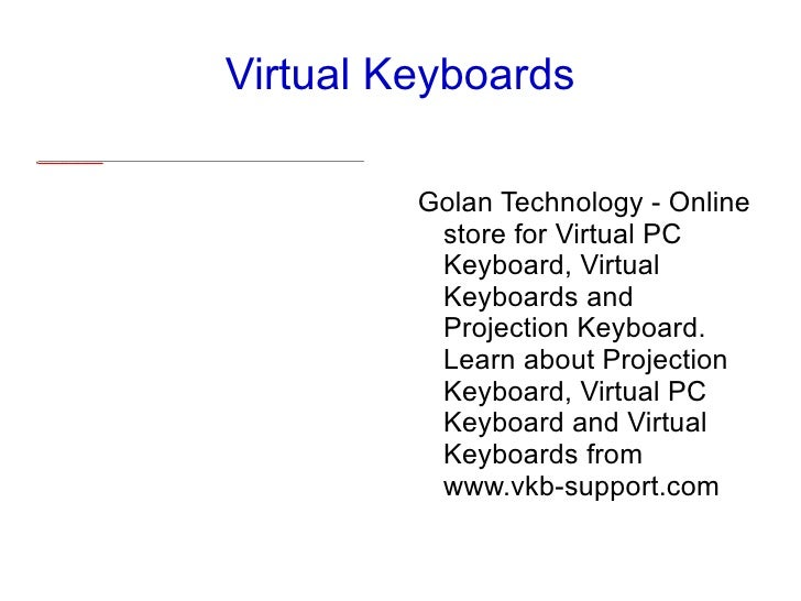 vkb-support - Virtual Keyboard