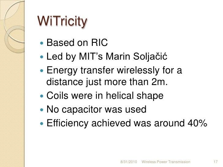 wireless power transmission using inductive coupling pdf