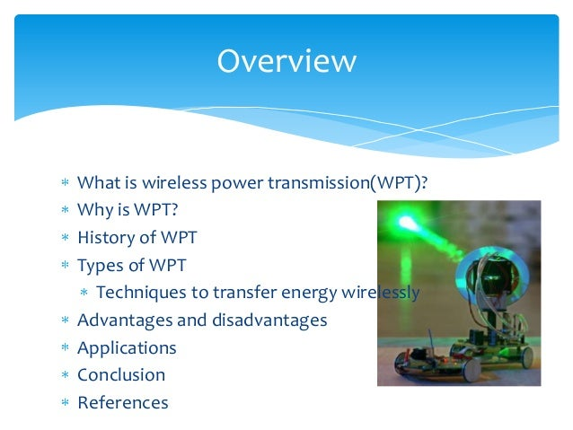 Wireless Power Transmission(Future is Here)