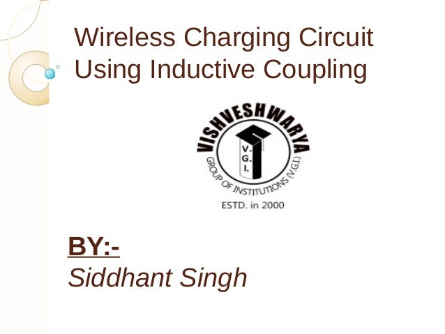 Wireless mobile charging by Inductive Coupling