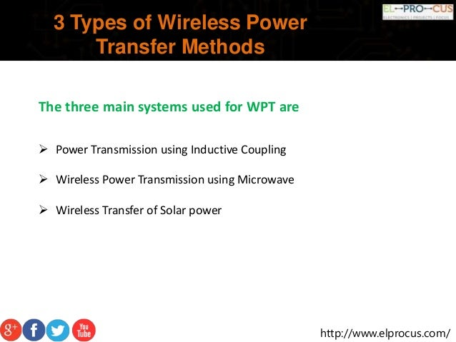 wireless power transfer developed Wireless power transfer explained with types- inductive coupling, microwave transmission and laser  microwave power transmission: this idea was developed by .