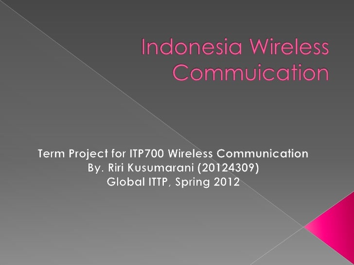    Indonesia at A Glance   Frequency   Electricity Status   Telecommunication Status   Statistical Data on Mobile    ...