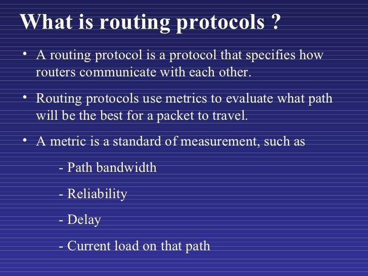 Wireless routing protocols Slide 3