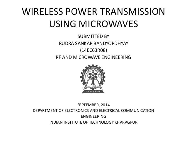 wireless power transmission to sensors using Wireless power transmission for low power micro device manandakumar 1 energy consumption is the biggest issue in wireless sensor network and mobile devices.