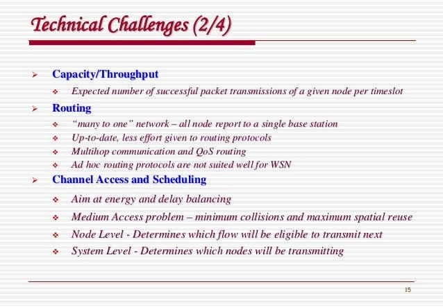 15 Technical Challenges (2/4)Technical Challenges (2/4) Capacity/ThroughputCapacity/Throughput Expected number of successf...
