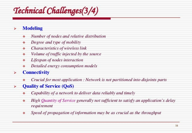 16 Technical Challenges(3/4)Technical Challenges(3/4) ModelingModeling Number of nodes and relative distributionNumber of ...
